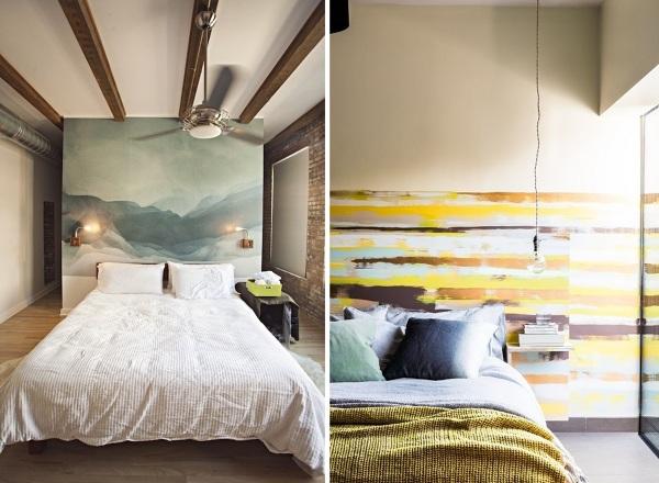 Foto papel pintado dormitorio de miriam mart 927703 for Papel pintado para dormitorios