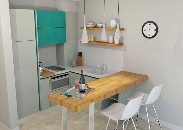 Foto para cocinas muy peque as de saint provence 1169537 Cocinas muy pequenas