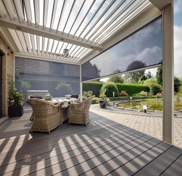 P rgolas bioclim ticas disfruta de tu terraza en cualquier poca del a o ideas jardineros - Pergola bioclimatica precio ...