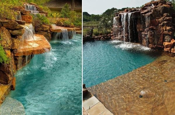 Foto piscina cascada de miriam mart 845762 habitissimo for Cascadas prefabricadas