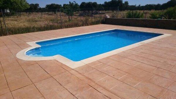 Foto piscina con cloraci n salina y l mina armada de for Lamina armada para piscinas precios