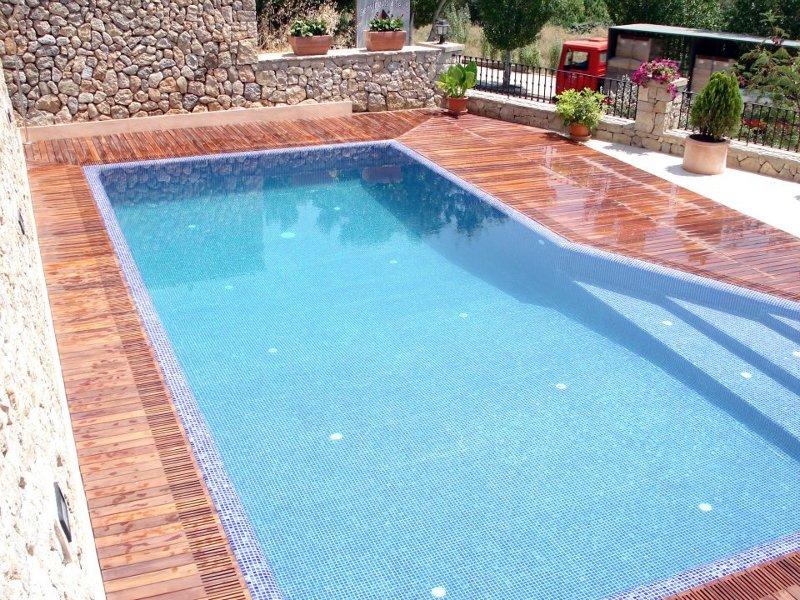 Foto piscina en selva de coinsol obras y servicios - Presupuestos de piscinas de obra ...