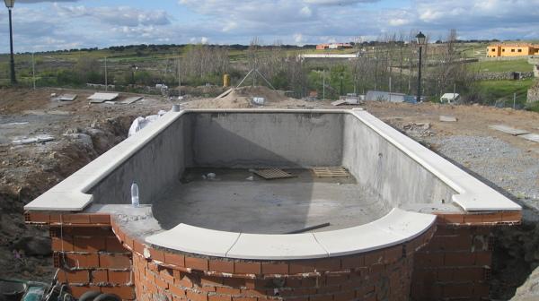 Foto piscina hormig n gunitado de piscinas y reformas for Hormigon gunitado piscinas