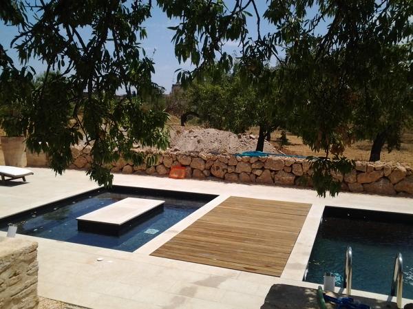 Foto piscina santa maria de piscines jm rustic 967286 - Piscina santa maria ...