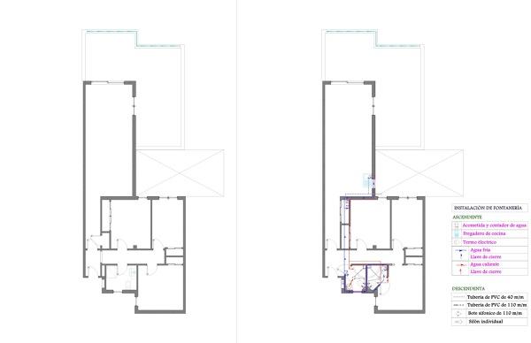 Foto planos de fontaner a de vitiva soluciones de - Como hacer una instalacion de fontaneria ...