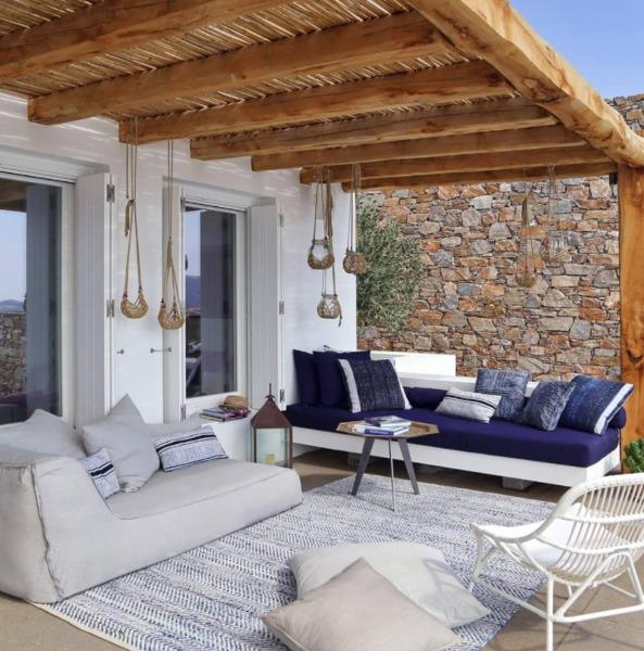 Foto porche madera y ca izo de maribel mart nez 1444982 for Terraza decoracion apartamento al aire libre