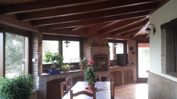 Foto porche r stico casa de campo de reformas dise os y construcci n 1367252 habitissimo - Porches de casas de campo ...