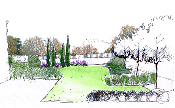Foto proyecto de dise o de jard n de la habitaci n verde for Proyectos de jardines