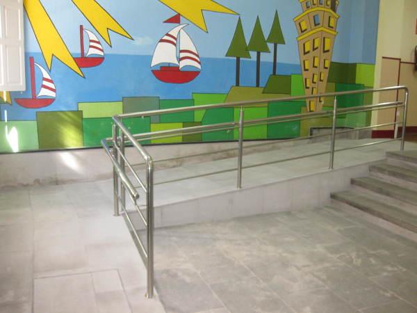 Proyecto de Instalacion de Ascensor y Mejoras en la Accesibilidad en el CEIP Montel Toucet. A Coruña