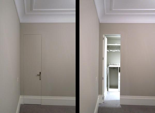 Foto puerta oculta de light architecture studio 1204904 - Puertas correderas ocultas ...