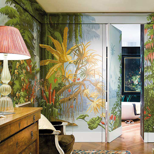 Foto puerta papel pintado de maribel mart nez 1756359 for Papel pintado para puertas