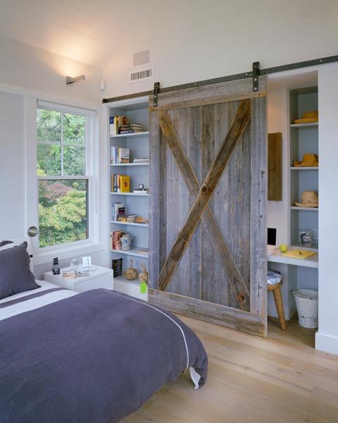 Foto puerta tipo granero de anna gaya 873381 habitissimo for Puertas tipo granero