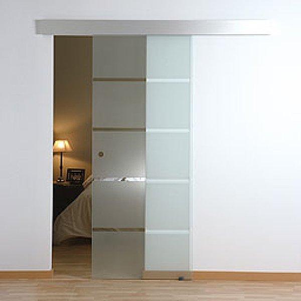 Foto puertas de vidrio de aluminios r l 841872 habitissimo - Puertas correderas vidrio ...