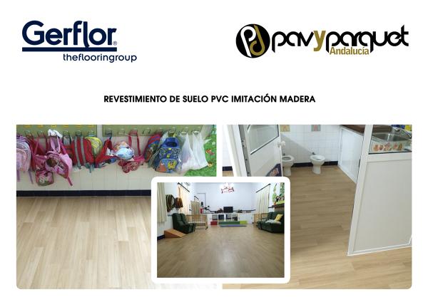 Foto pvc imitacion madera de pavyparquet andaluc a - Pvc imitacion madera ...