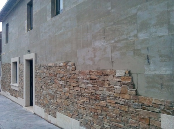 Foto recubrimiento de fachada de bloke blok 1044634 habitissimo - Recubrimientos de paredes ...