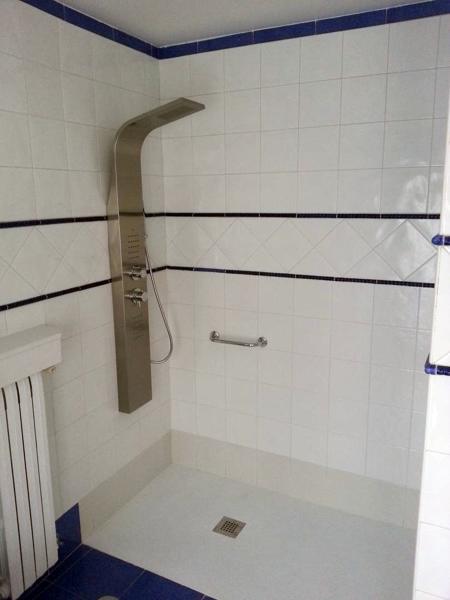 Reforma Baño Banera Por Ducha:Reforma Baño Cambio Bañera Por Plato De Ducha Reformas Baños
