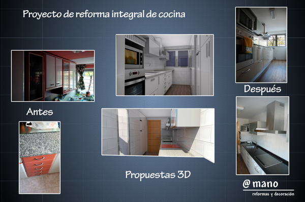 Reforma de cocina y cuarto de baño