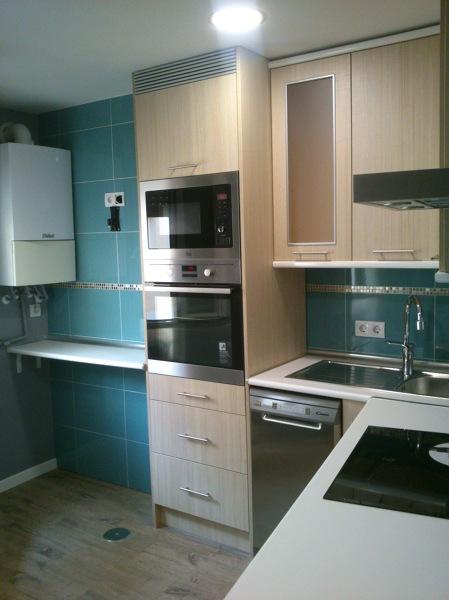 Foto reforma completa cocina con muebles por 6800 euros for Cocina 6000 euros