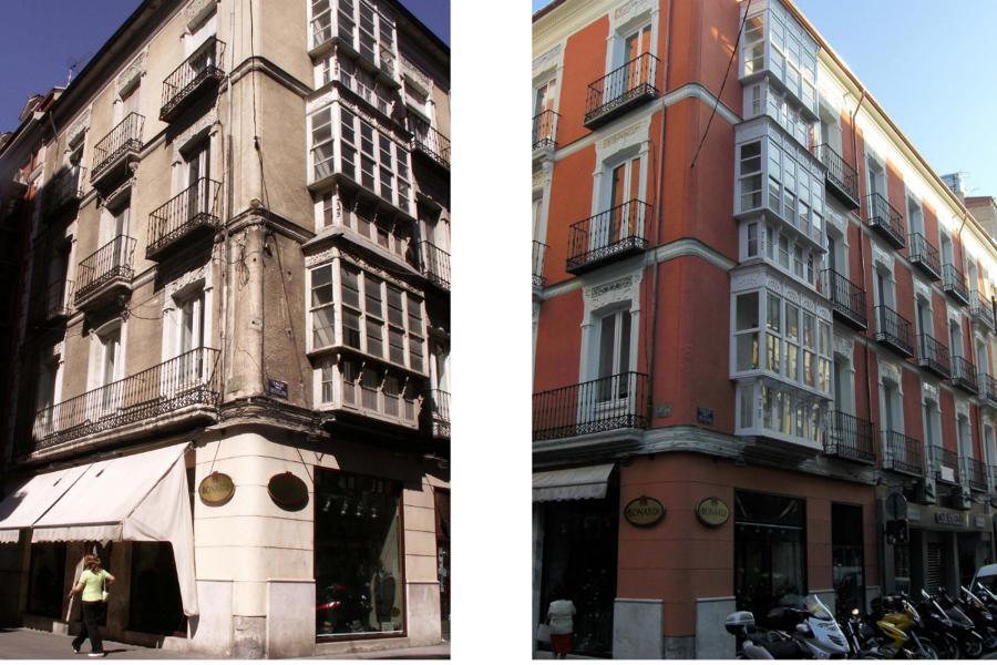 Foto reforma de fachada en valladolid de gaetti padrell - Arquitectos en valladolid ...