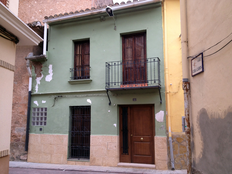 Foto reforma de fachada de construcciones jomapesa s l - Fachadas de casas de pueblo ...