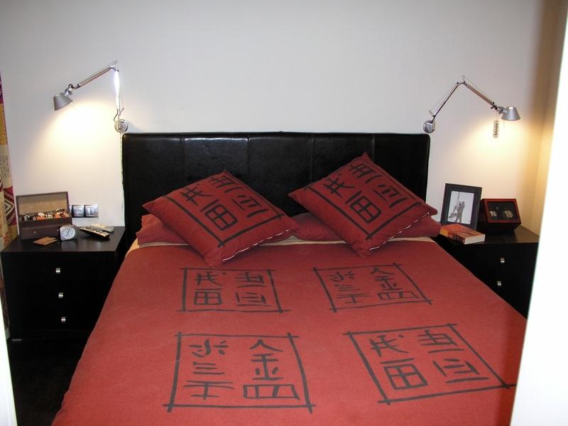 Foto reforma dormitorio en barcelona apliques de lectura - Apliques pared dormitorio ...
