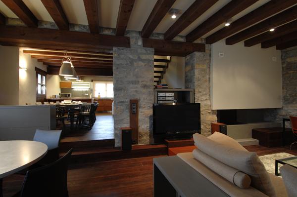 Foto reforma integral casa rural en ainsa de oliveras - Reforma integral casa ...