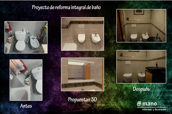Reforma cuarto de baño 1
