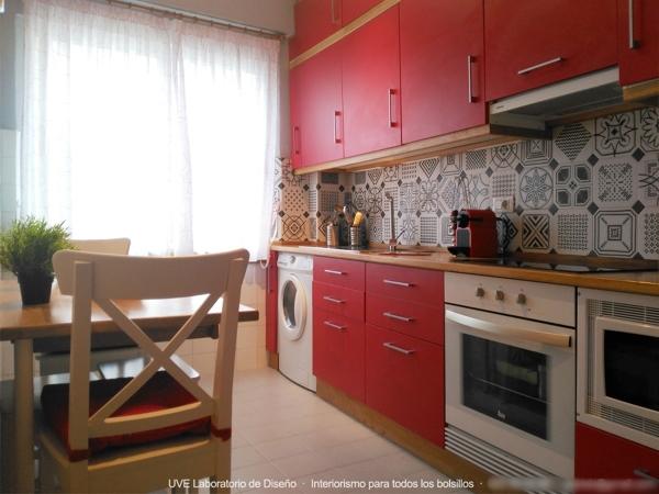 Foto reforma integral de cocina en a coru a de uve - Cocinas en coruna ...