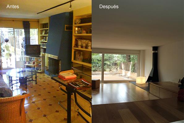 Foto reforma integral vivienda unifamiliar madrid de araujo dolado arquitectos 329514 - Reforma vivienda madrid ...
