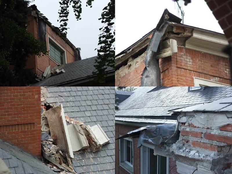 Reparacion de cornisas y fachadas en mal estado edificio for Oficinas en moncloa