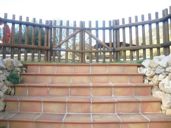 Foto restaurar valla jardin de mar pau manteniments for Vallas jardin antiruido