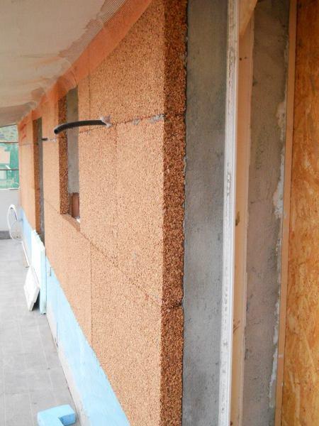 Foto aislamiento t rmico con corcho de 6 cm en la fachada - Revestimiento de corcho ...