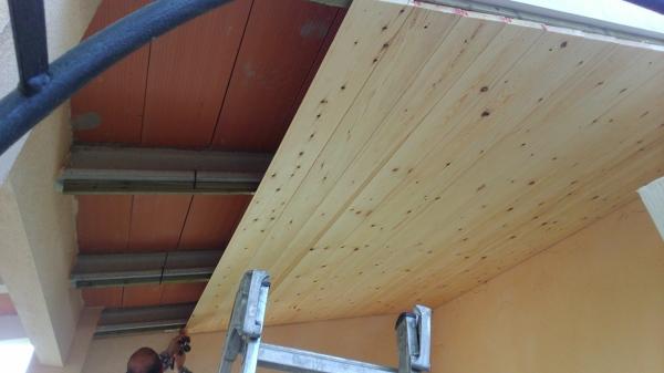 Foto revestimiento de techo de jsbparquet 904784 - Revestimientos para techos ...