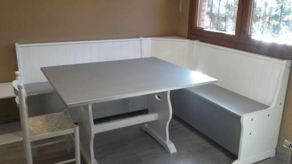 Foto: Rinconera Lacada Blanco/aluminio con Mesa de Loramu #1703114 ...