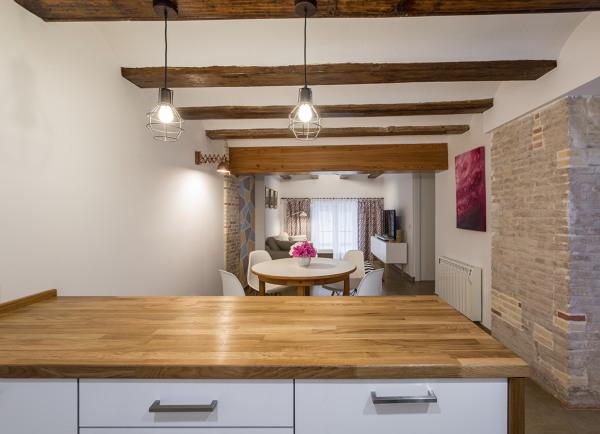 Foto sala de estar comedor cocina de lliber s for Cocina estar comedor