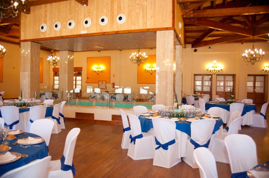 Foto sal n bodas de maryan decoraci n 177574 habitissimo for Decoracion salon de bodas