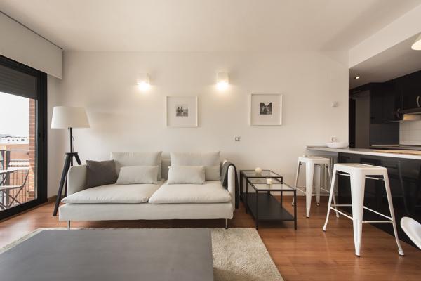 Foto sal n comedor de alvarez sotelo arquitectos 1193002 - Como pintar un piso pequeno ...