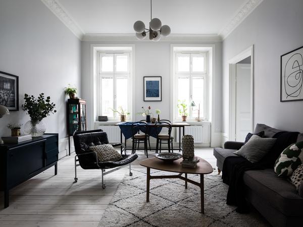 Foto sal n comedor estilo n rdico de cobos 1715326 - Salon comedor estilo nordico ...