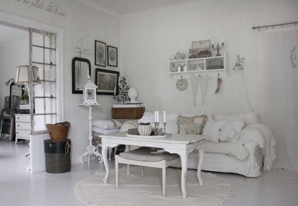 foto sal n shabby chic de miriam mart 920699 habitissimo. Black Bedroom Furniture Sets. Home Design Ideas