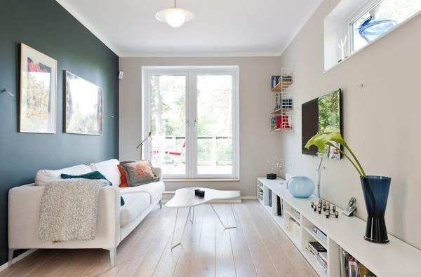 8 soluciones xxl para salones peque os ideas decoradores - Ideas salones pequenos ...