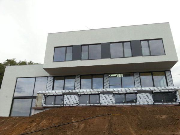 Fachadas en SATE (aislamiento térmico) en Asturias