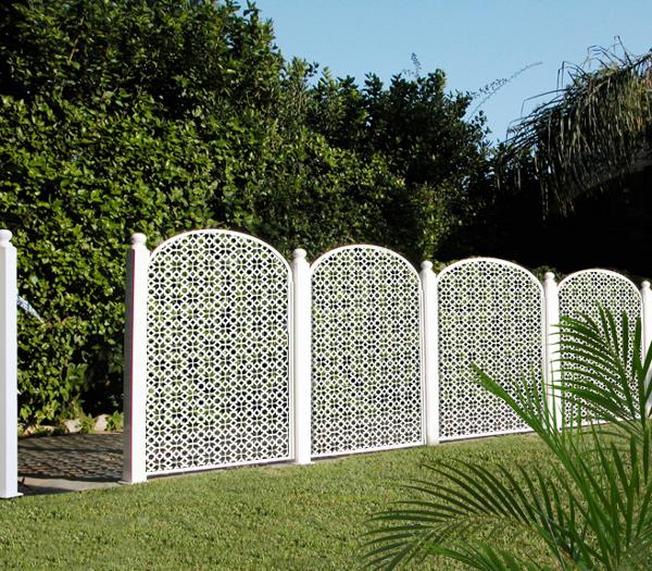 Foto separador ambiente celos as valla jard n de andaluciart celosias y tallados 305045 - Separador jardin ...