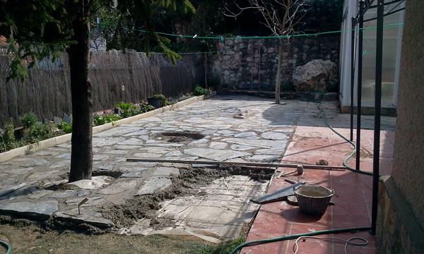 Foto suelo de piedra de rg reformas guadalajara 815433 - Piedra suelo exterior ...