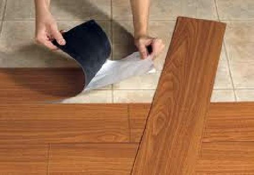 Foto suelos vinilicos para cocinas y ba os de for Losetas de vinilo autoadhesivas para bano