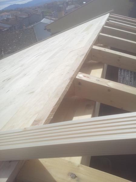 Foto suministro de viga laminada de garrido materiales de - Cano materiales de construccion sl ...