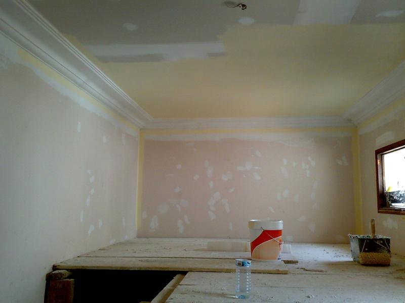 Foto techo de pladur y moldura de escayola de gonzalo raboso 197090 habitissimo - Colocar moldura escayola ...