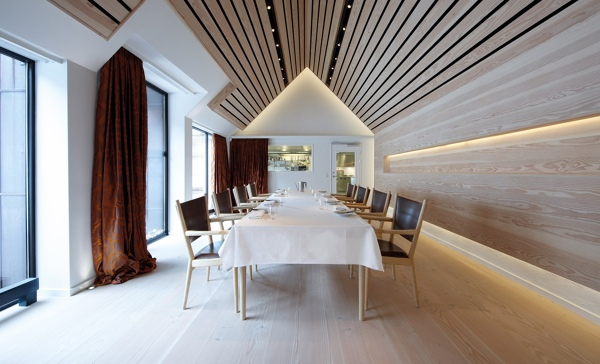 foto techo de madera: