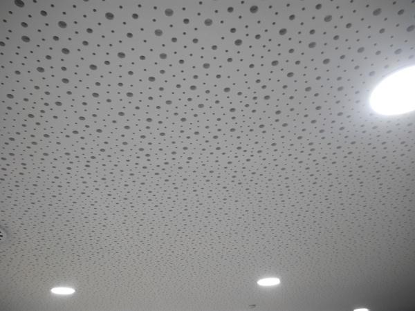 Foto techos acusticos oficina sabadell de escayolas chico for Oficina de empleo sabadell