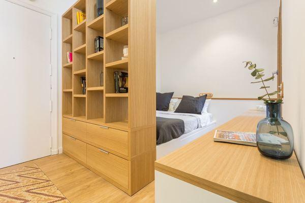 Foto tendencias hogar 2018 dormitorio con mueble madera - Tendencias dormitorio 2018 ...