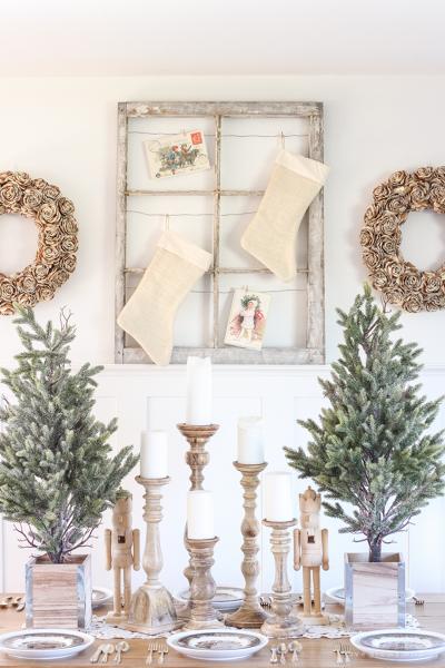 Tendencias Navidad Pinterest Madera